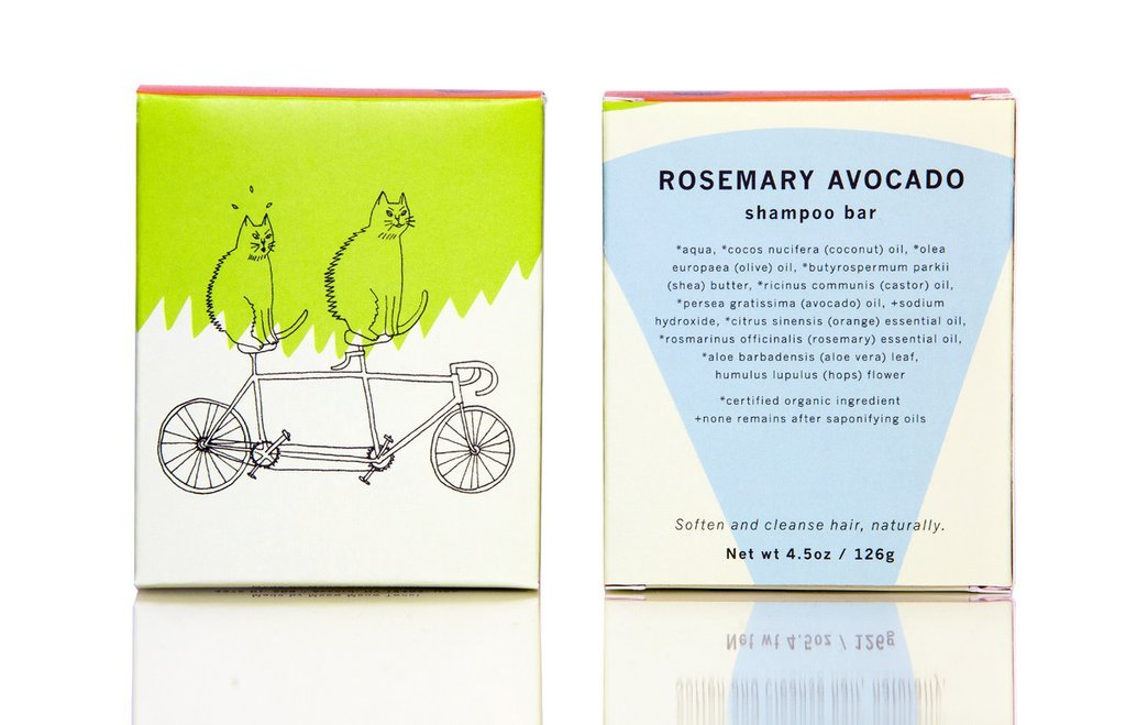 Rosemary Avocado Milk Shampoo Bar