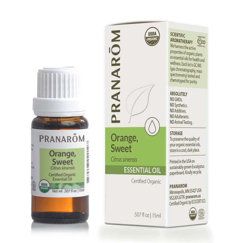 Orange, Sweet Essential Oil (3 sizes)