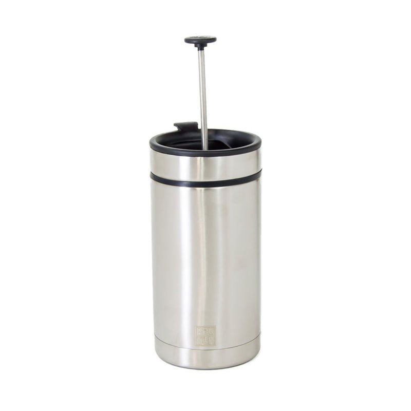Personal French Press Steel Toe with Bru-Stop