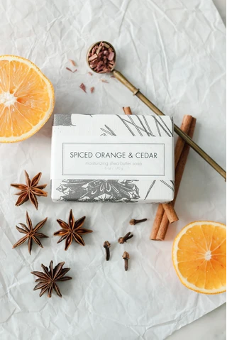 Spiced Orange & Cedar Soap Bar