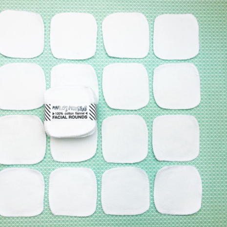 Zero-Waste Reusable Facial Rounds