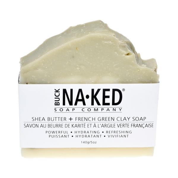 Shea Butter & French Green Clay Bath Bar Soap