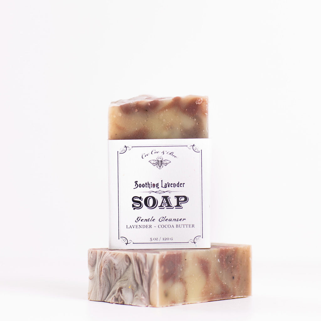 Soothing Lavender Bar Soap