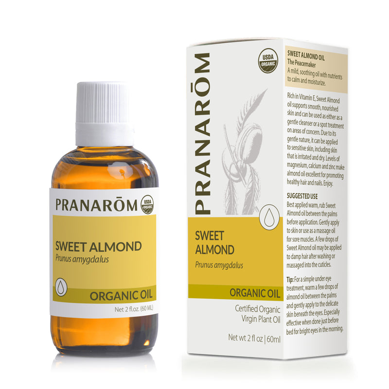 Almond, Sweet Carrier Oil Organic 2 fl.oz