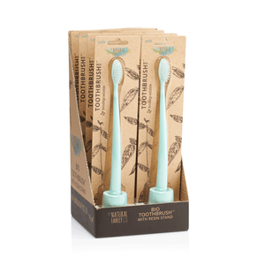NFco Compostable Adult Toothbrush & Stand