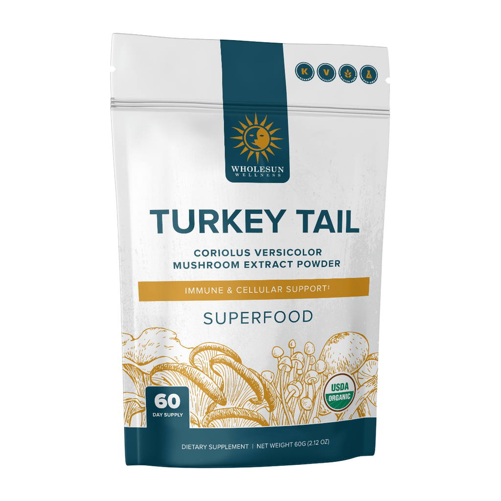 Turkey Tail Mushroom Extract Powder 60g (212oz)