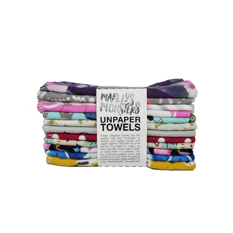 Zero-Waste Unpaper Towels (Set of 12)