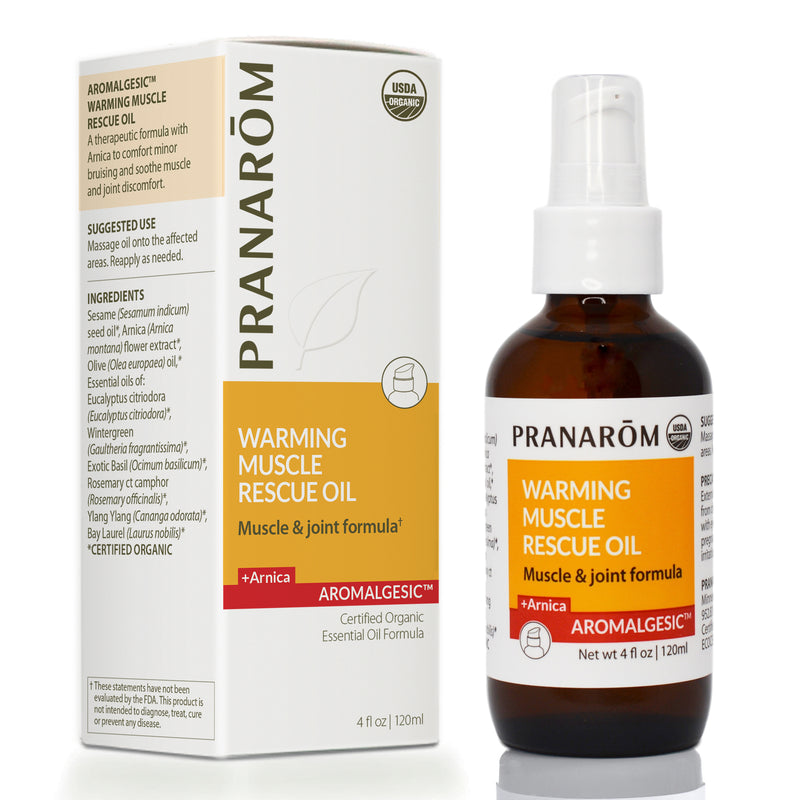 Aromalgesic: Warming Muscle Rescue Oil (2 Sizes)