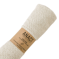 "Anact hemp-based HAND towel. 55% hemp 45% organic cotton. 28"" x 16"" Quick drying, Ultra absorbent, Sustainable Awesome!"