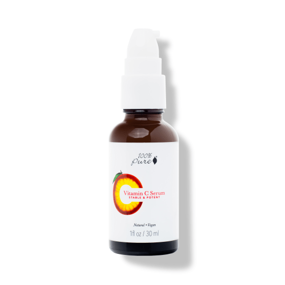 Natural, Potent & Vegan Vitamin C Serum by 100% Pure. Reap & Sow Oceanside, CA