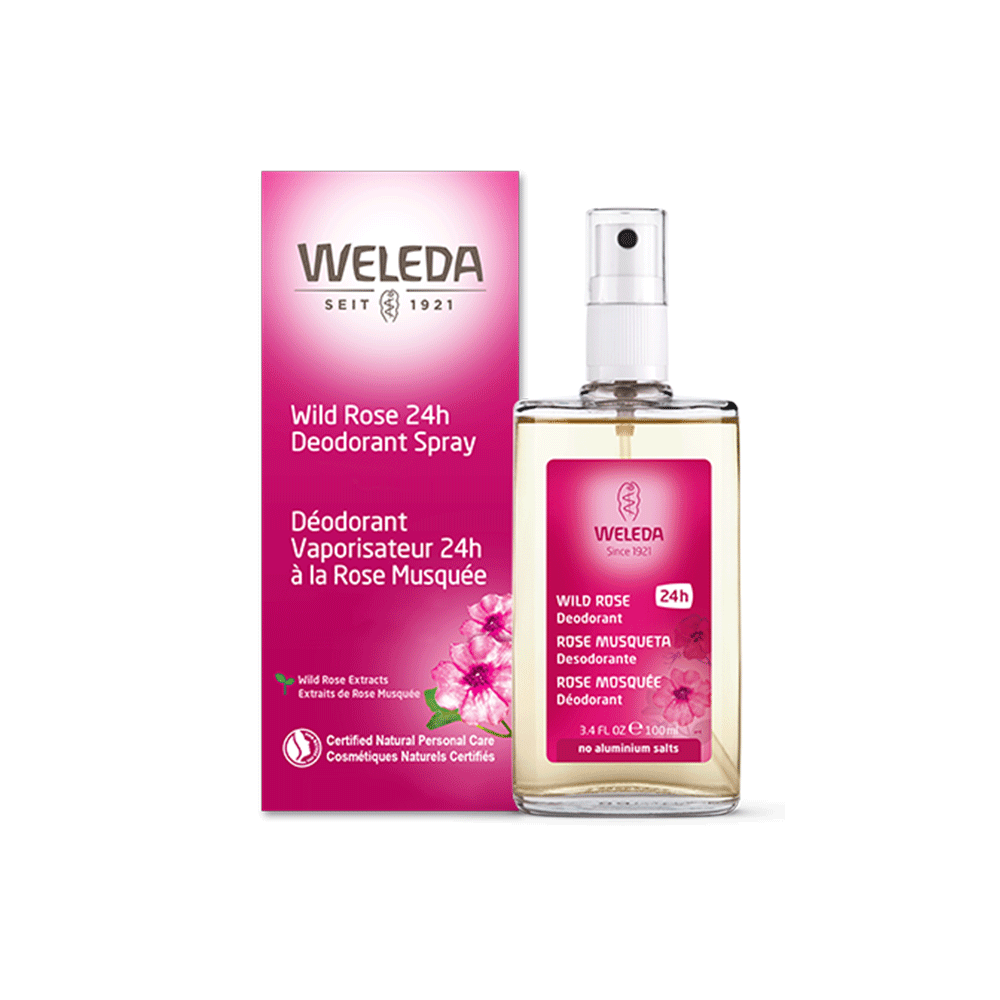 Wild Rose 24-hour Deodorant Spray