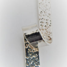Load image into Gallery viewer, Hammered Sterling Silver Twisted Pendant