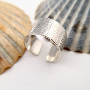 Open Wide Sterling Silver Ring