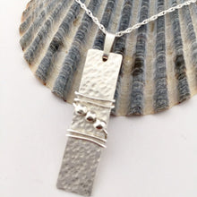 Load image into Gallery viewer, Sterling Silver Bead Pendant