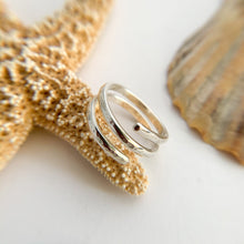 Load image into Gallery viewer, Sterling Silver Spiral Ring