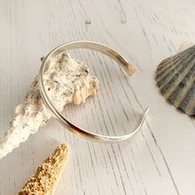Load image into Gallery viewer, Sterling Silver Open Bangle