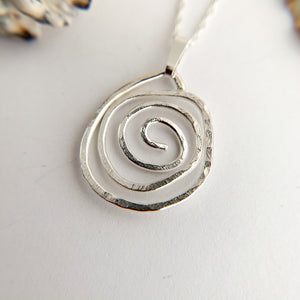 Small Celtic Sterling Silver Pendant