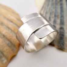Load image into Gallery viewer, Wrap Over Sterling Silver RIng