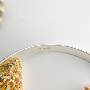 Sterling Silver Open Bangle