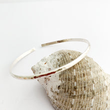 Load image into Gallery viewer, Open Minimalist Sterling Silver Cuff