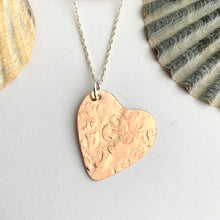 Load image into Gallery viewer, Copper Heart Shape Necklace