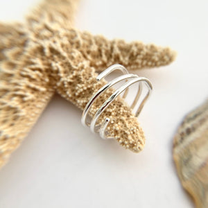 Sterling Silver Boho Wire Ring