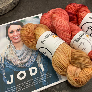 Jodi Shawl KAL - we are using 3 skeins of beWoolen DK~