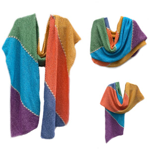 Zoom KAL's - the Daisy Wrap or Favorite Summer Shawl
