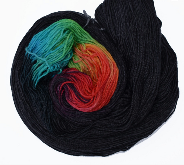 Frabjous Fibers Colorburst March Hare - beWoolen