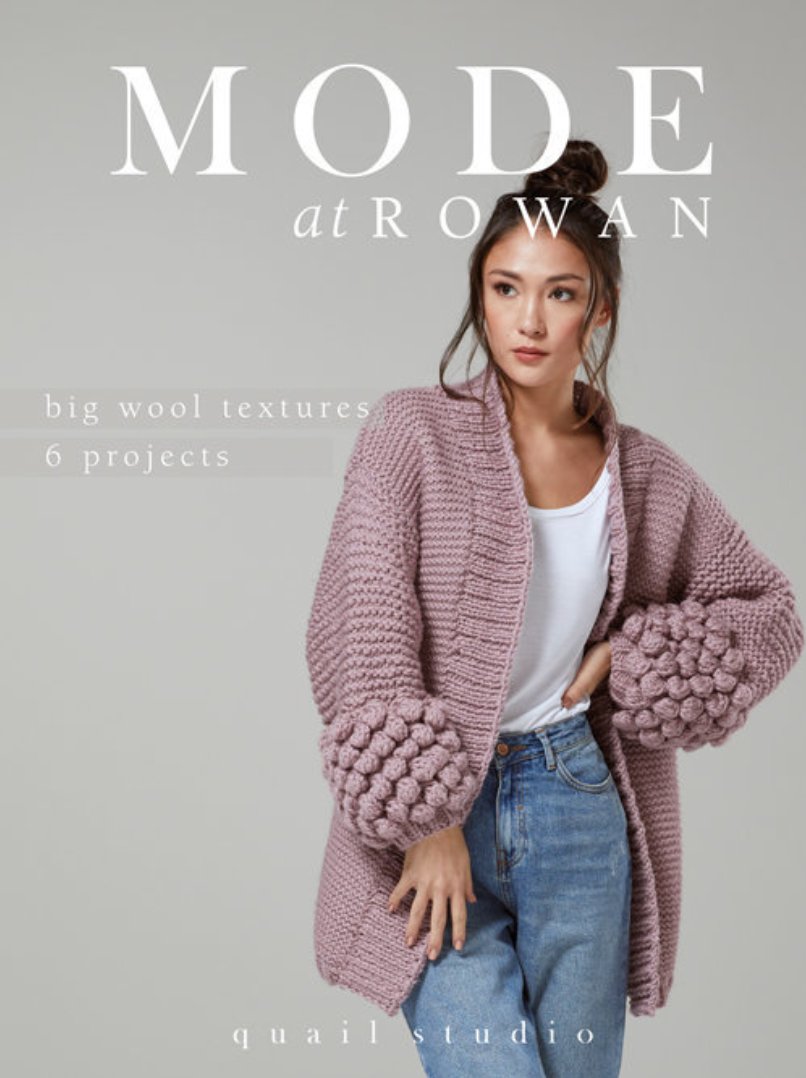 Rowan Big Wool Textures-Mode - beWoolen