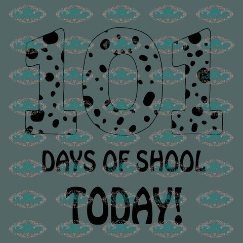 101 Days Of Chool Today Dogs 100 School Gift For Student Svg Digital
