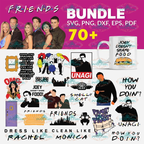 70+ File Friends Top SVG, Bundle, friends tv show, Svg, Friends Svg, Png, Eps, Dxf