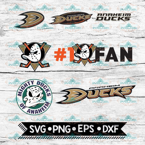 Anaheim Ducks Hockey Team, Hockey logos, Svg, NHL, Bundle
