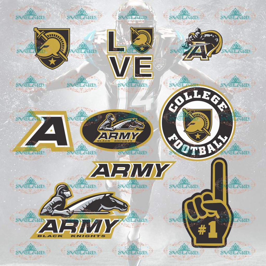 Army Black Knights Army Vsg College Football Svg Bundle File Nfl Ncaa Digital