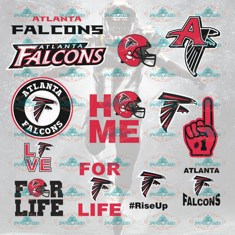 Atlanta Falcons Atlanta Falcons Logo Football Fans Team Bundle File Nfl Ncaa Digital