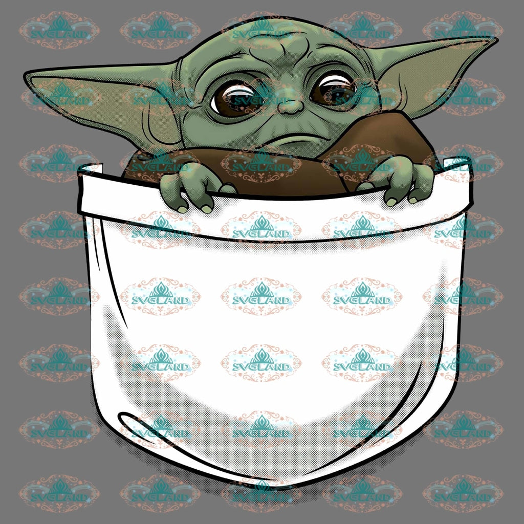 Baby Jedi Star Wars Baby Yoda War Png Digital