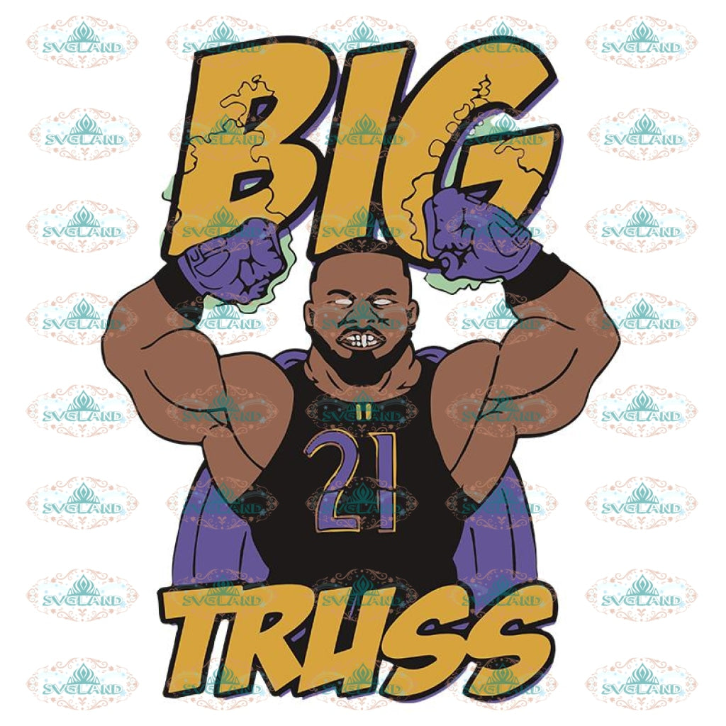 Baltimore Ravens Big Truss 2020 Svg, Player Svg, Cricut File, Clipart, NFL Svg, Sport Svg, Football Svg, Raven Svg, Png, Eps, Dxf