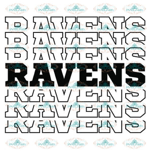 Baltimore Ravens Heart Svg, Ravens Quotes Svg, NFL Svg, Sport Svg, Football Svg, Cricut File, Clipart, Love Football Svg 2
