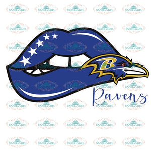 Baltimore Ravens Lips Svg, Baltimore Ravens Svg, NFL Svg, Cricut File, Clipart, Sexy Lips Svg, Sport Svg, Football Svg, Png, Eps, Dxf