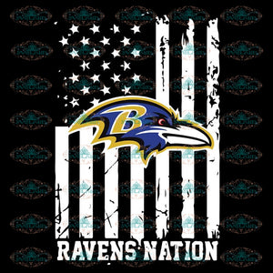 Baltimore Ravens Nations Football Us Flag Svg, Snoopy Ravens Svg, NFL Svg, Sport Svg, Football Svg, Cricut File, Clipart