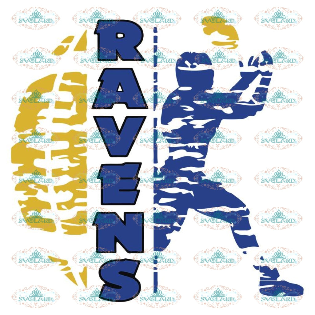 Baltimore Ravens Svg, Ravens Logo Svg, NFL Svg, Sport Svg, Football Svg, Cricut File, Clipart, Love Football Svg 5