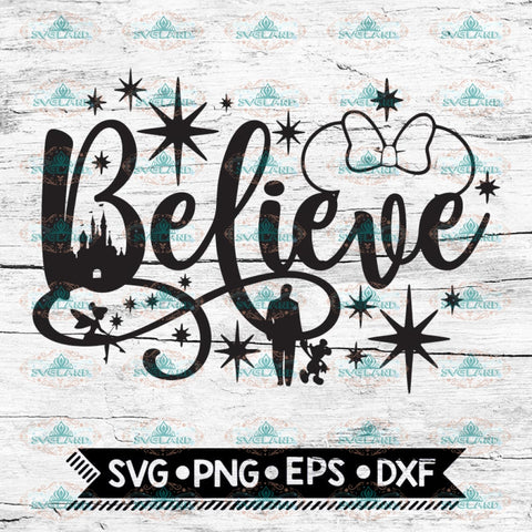 Believe in Magic svg, Disney svg, minnie mouse svg, Mickey Head svg