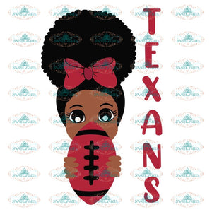 Black Girl texans Svg, Houton texans Svg, NFL Svg, Cricut File, Clipart, Peek a Boo Svg, Sport Svg, Football Svg, Png, Eps, Dxf