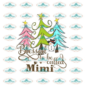 Blessed To Be Call Mimi Blessed Cross Png Gift Hand Mother And Son For Mothers Day Family Shirt File
