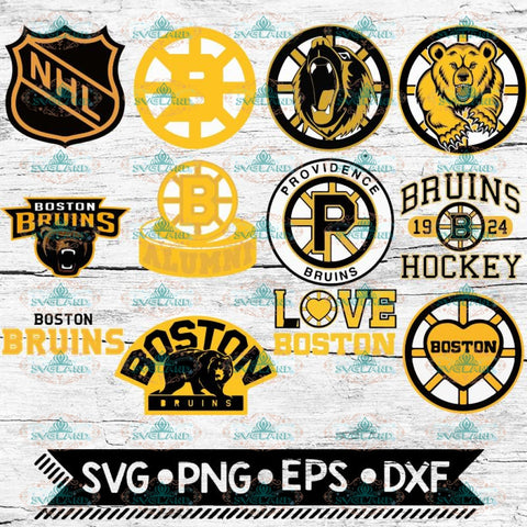 Boston Bruins Svg, Boston Bruins logo, NHL, Svg, Bundle