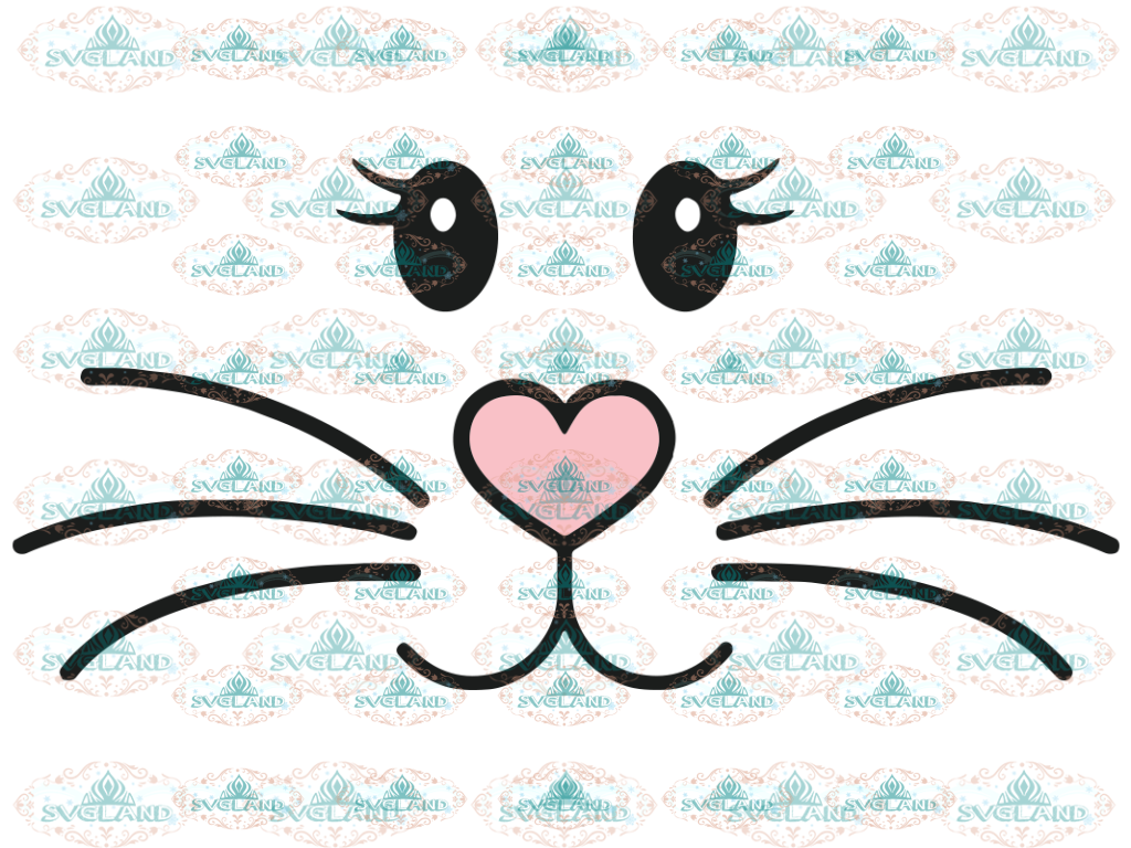 Bunny Svg Easter Boy Girl Cute Cut File Face Digital