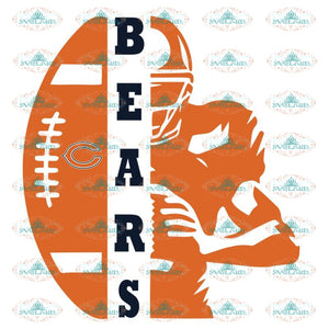 Chicago Bears Player Svg, Chicago Bears Svg, NFL Svg, Cricut File, Clipart, Player Svg, Sport Svg, Football Svg, Png, Eps, Dxf