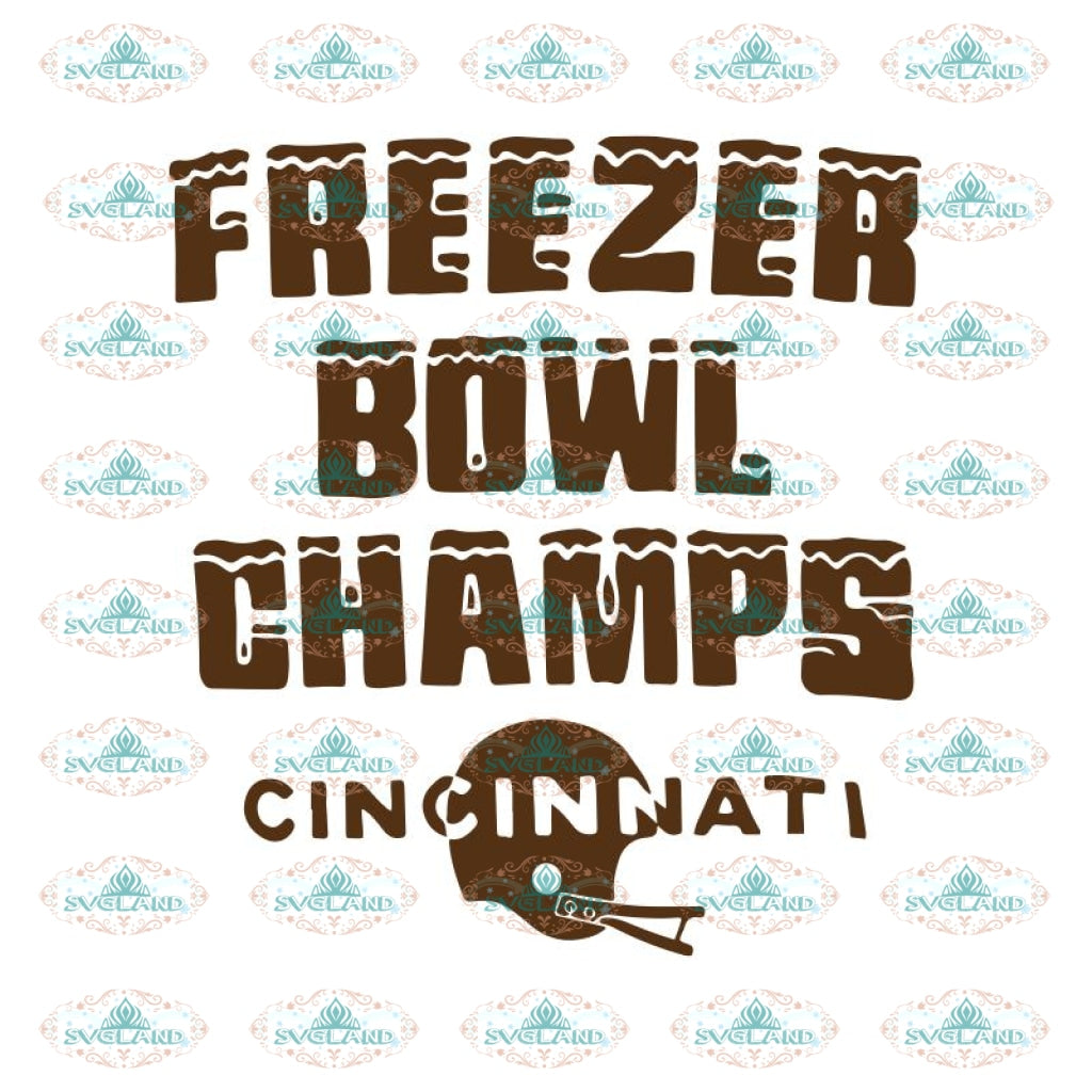 Cincinnati Bengals Heart Svg, Freezer Bowl Champs Cincinnati Svg, Cricut File, Clipart, Football Svg, NFL Svg, Sport Svg, Love Football Svg
