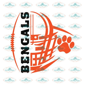 Cincinnati Bengals Heart Svg, Logo Bengals Svg, Cricut File, Clipart, Football Svg, NFL Svg, Sport Svg, Love Football Svg, Love Bengals Svg2