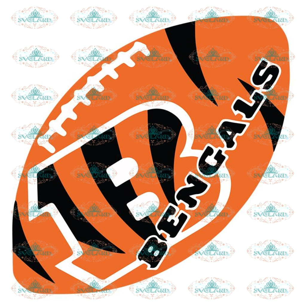 Cincinnati Bengals Svg, For Life Bengals Svg, Cricut File, Clipart, Football Svg, NFL Svg, Sport Svg, Love Football Svg, Love Bengals Svg39